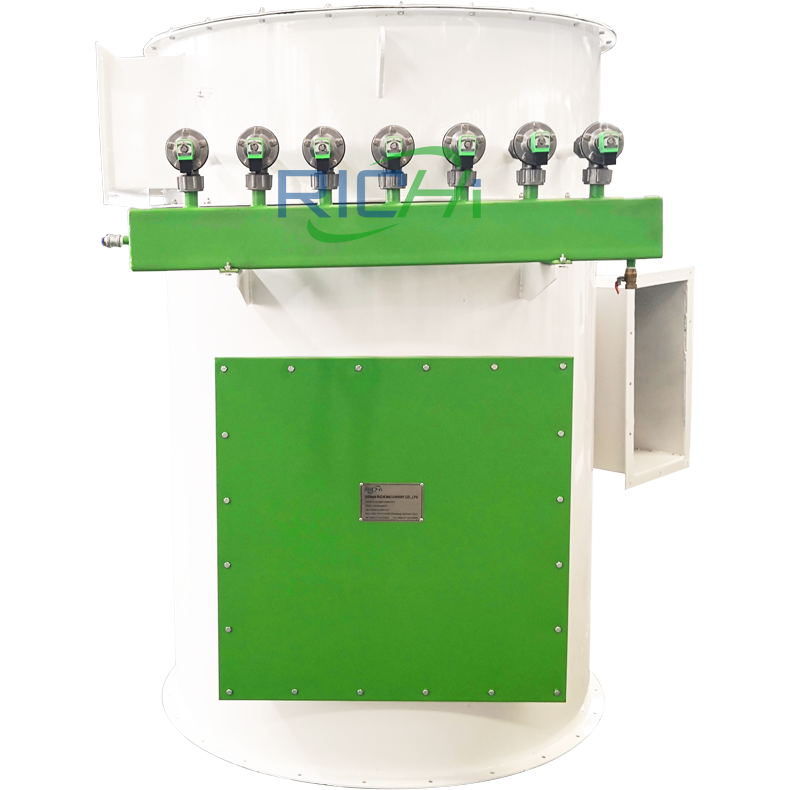 Low Pressure Direct Jet Filter Dust Collector