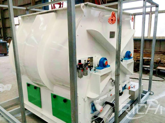 SLHSJ Biaxial Feed Mixer