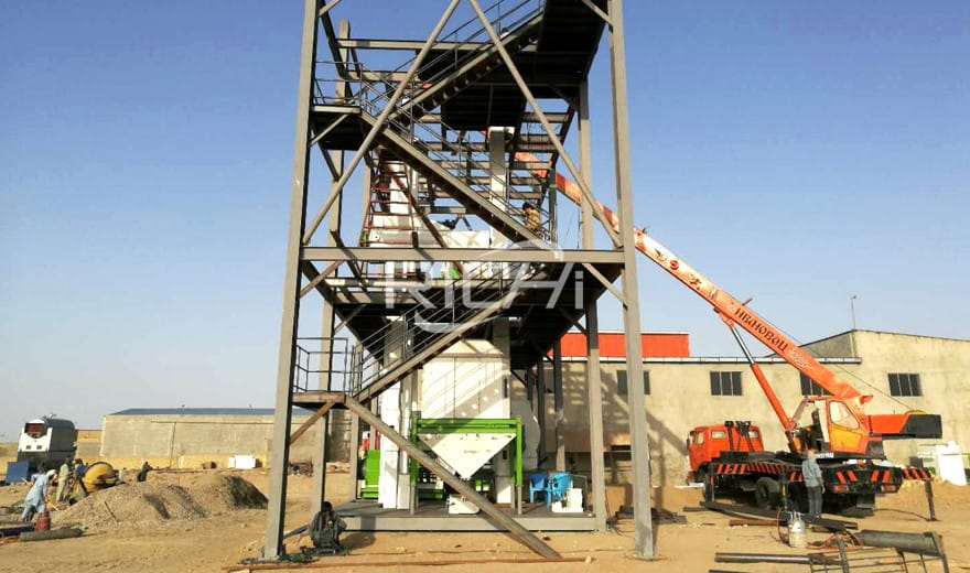 South Africa 10T/H Cattle Feed Pellet Production Plant