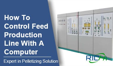 Feed Production Line with PLC Control
