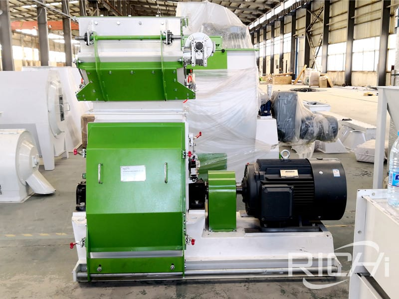 Ce approval Rice husk hammer mill machine