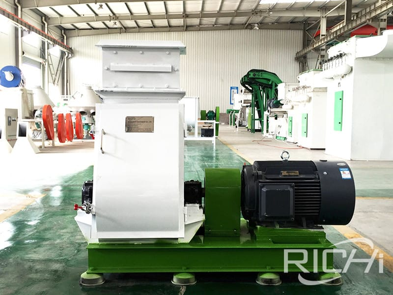 animal feed mill grinding hammer mill used in feed and flour mill