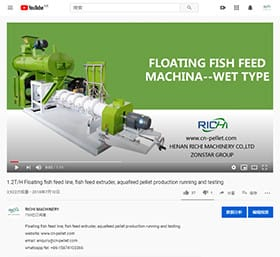 wet pet food pellet extruder machine