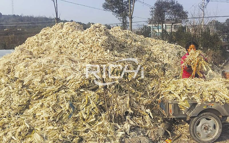 Best selling ce complete sugar cane bagasse pellet production line for fuels energy plant
