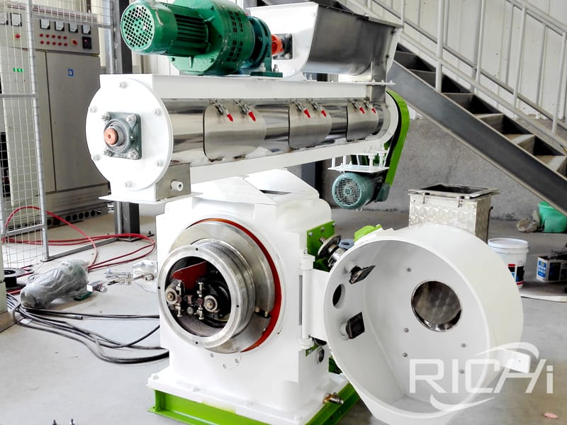 feed processing machines animal feed pellet mill price