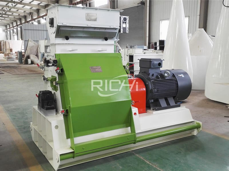 Animal Poultry Chicken Food Hammer Mill Machine