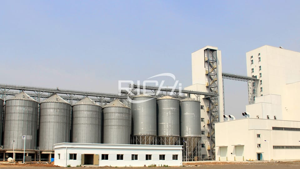 animal feed mill equipment plant cost