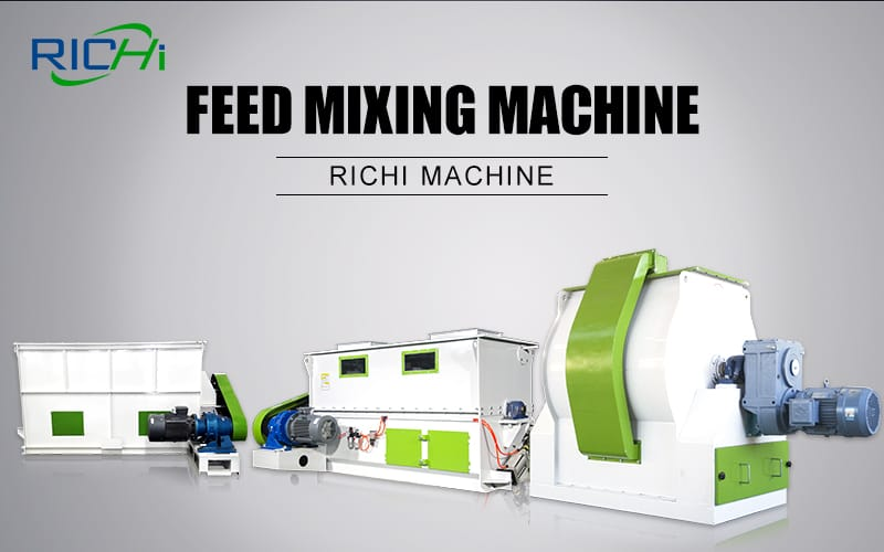 china factory price powder feed grinding mixing machine for animal feed