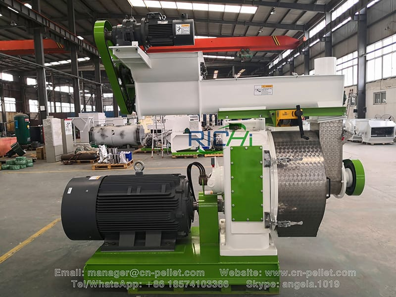 on selling good quallity pellet product line wood pellet machine