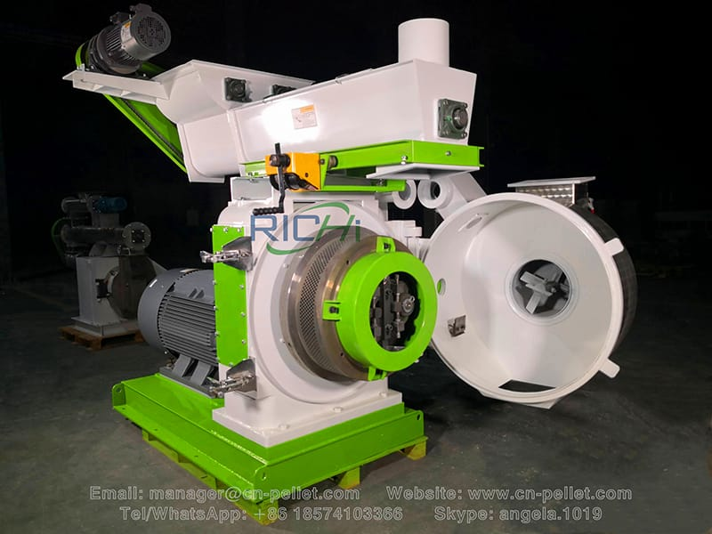 factory directly offered 2 ton per hour wood pellet machine