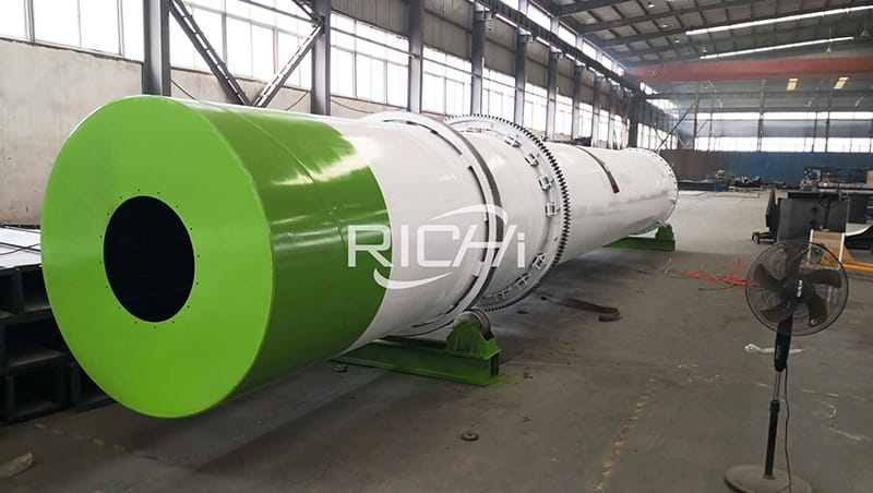 factory directly supply wood sawdust drum dryer