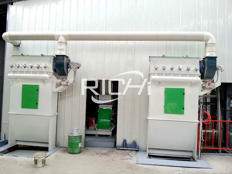 How to solve the problem of dust removal difficulty and easy blocking of the dust collector in animal feed making plant?