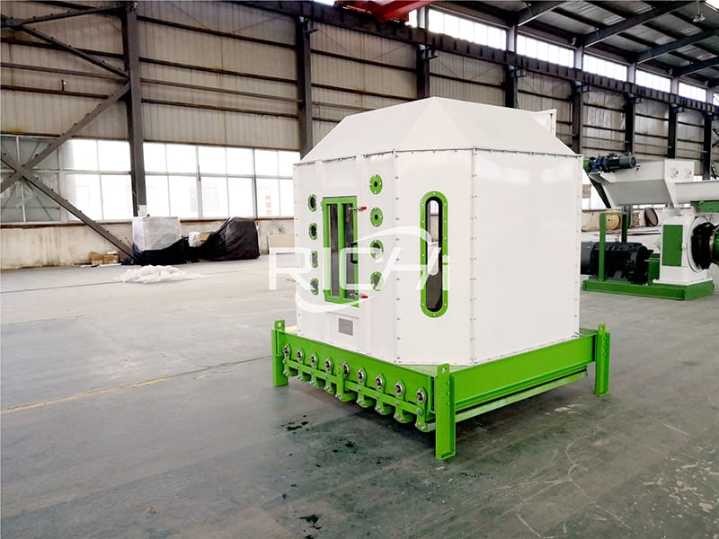 Application of Pellet Cooling Machine in the Processing of 1-100 Ton Per Hour Animal Feed Pellet Production Plant