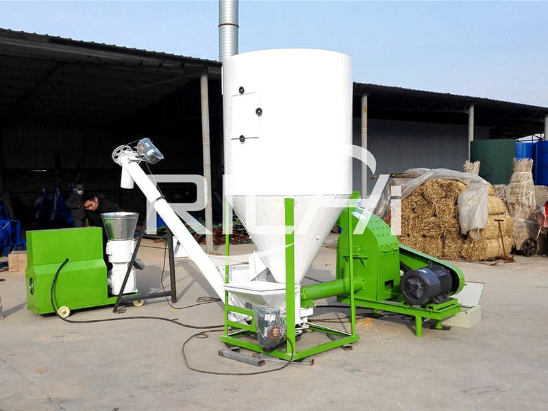 United Kingdom 100-150KG/H Fish Feed Pellet Production Line