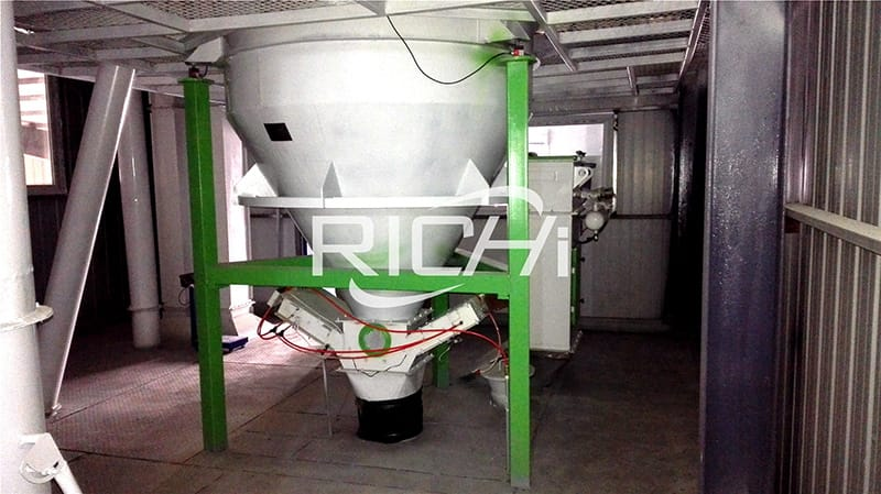 20t/h large capacity poultry fish livestock cattle feed production line price