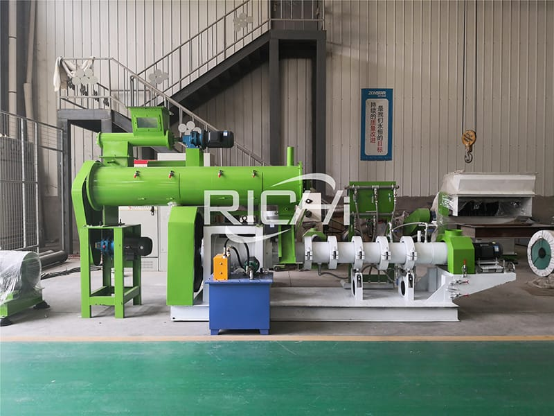 fish feed mill plant design and automation