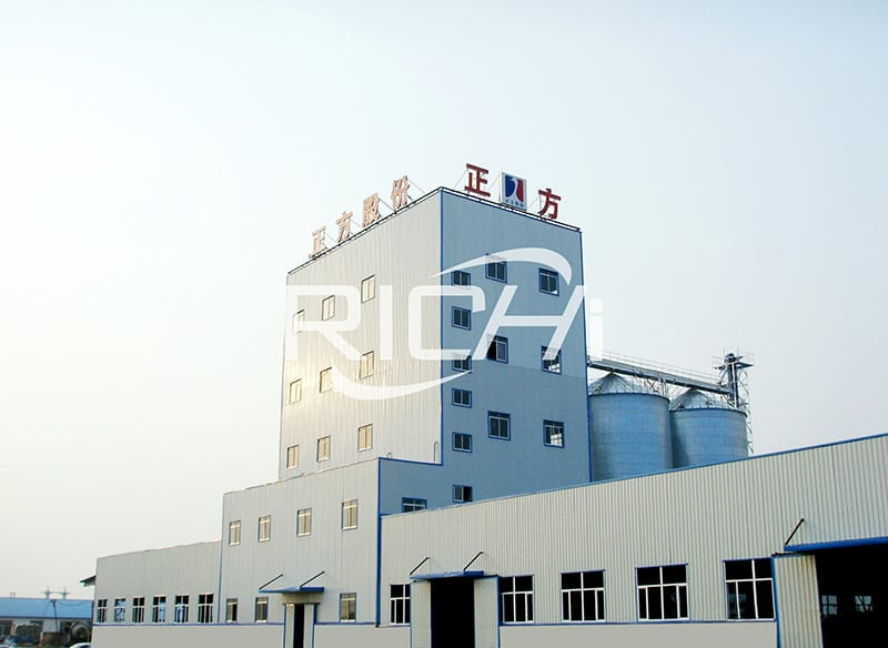 China manufacturer poultry feed plant