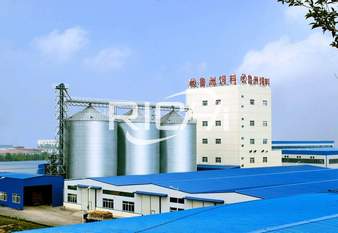 40TPH livestock feed pellet manufacturing plant for animal feed