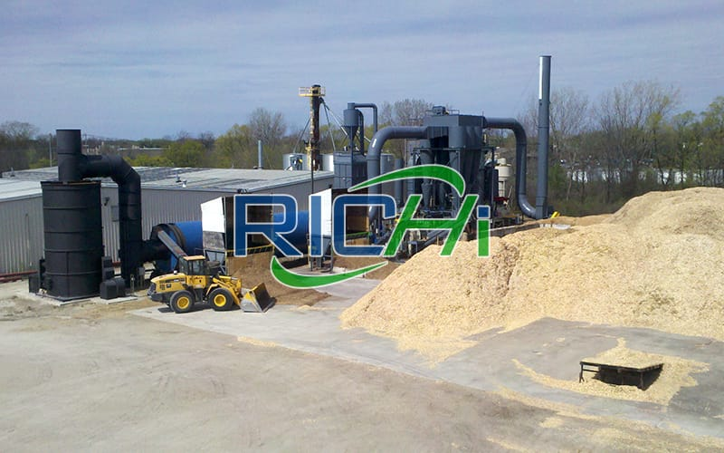 Germany CE automatic complete 2-2.5 Ton per hour best solution biomass wood sawdust pelletizing plant project